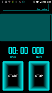 Retro Cyber StopWatch Timer - screenshot thumbnail