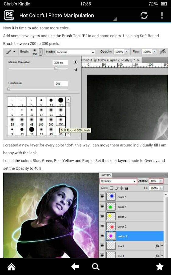 Free Tutorials For Photoshop- screenshot