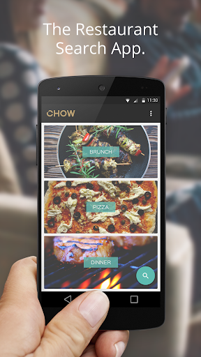 Chow: Food Restaurant Search