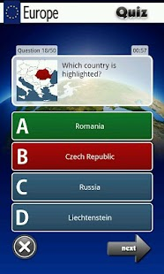 Europe Quiz - screenshot thumbnail