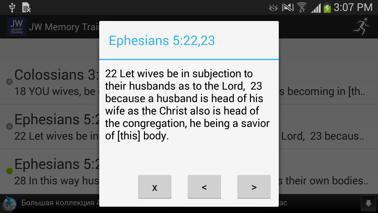 Memory Training. Bible Study- screenshot