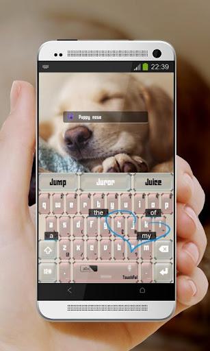 玩免費個人化APP|下載瞌睡狗 TouchPal Theme app不用錢|硬是要APP