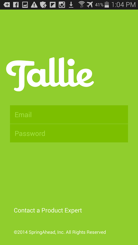 Tallie- screenshot