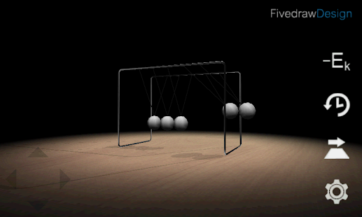3D Newton's Cradle- screenshot thumbnail