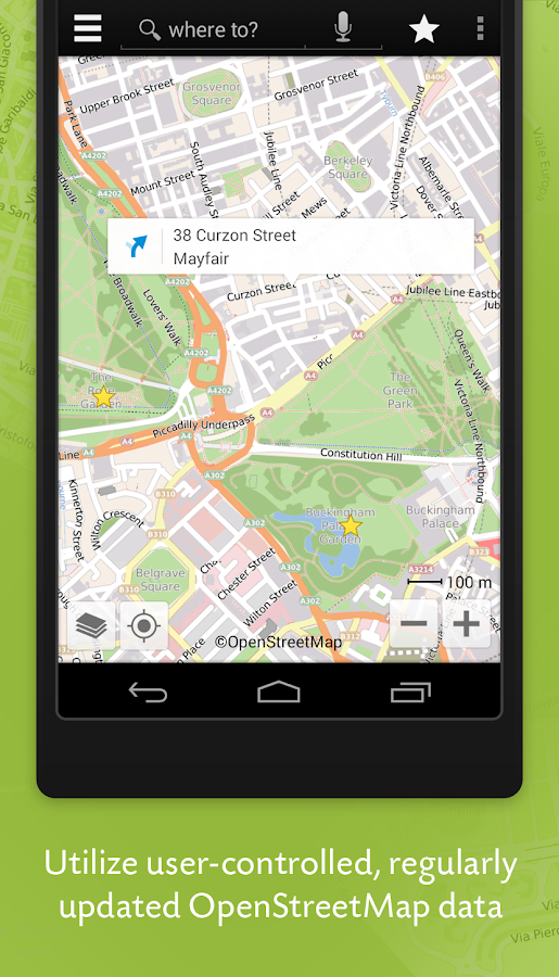 Wisepilot for XPERIA™ - screenshot