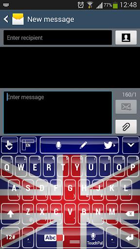 United Kingdom Keyboard