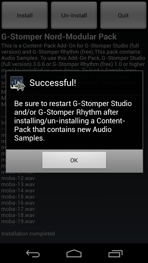 G-Stomper Nord-Modular Pack - screenshot