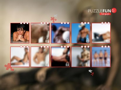 PuzzleFUN Hot Guys - screenshot thumbnail