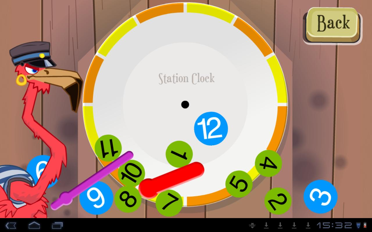 Learn to tell time - Fun Clock - screenshot