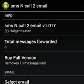 sms N call 2 email
