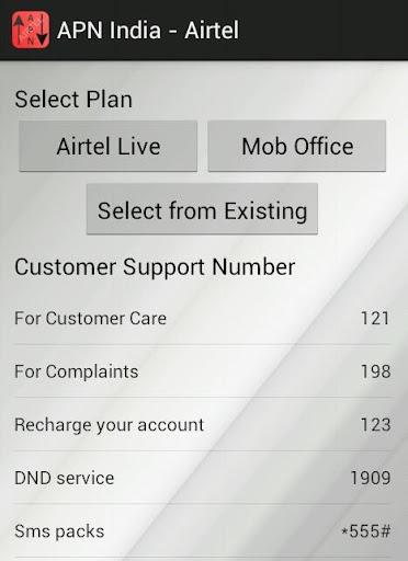 APN India - Airtel