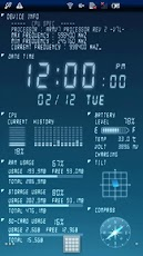 Device Info Live Wallpaper - живые обои с информацией о вашем android телефоне