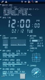 Device Info Live WallPaper Screenshot 1