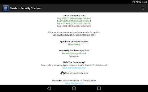 Bluebox Security Scanner v2.2