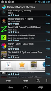 Theme Chooser Themes- screenshot thumbnail