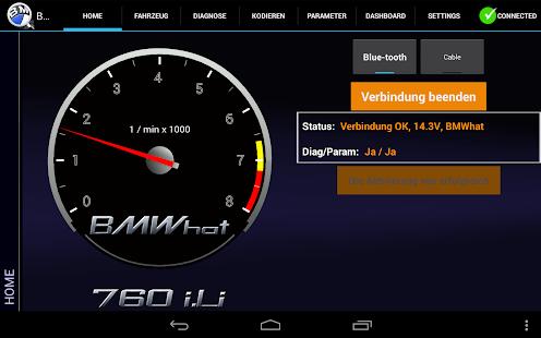 iViNi app für BMW - BMWhat