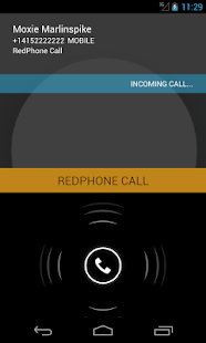 RedPhone :: Private Calls- screenshot thumbnail