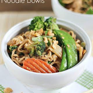Chicken Thai Noodle Bowls.
