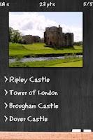 Screenshot of Castles Quiz