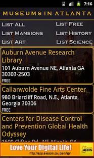 Museums In Atlanta- screenshot thumbnail