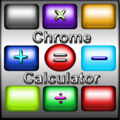 Chrome Skinnable Calculator HD