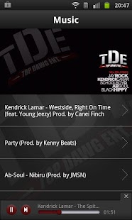 Top Dawg Entertainment - screenshot thumbnail