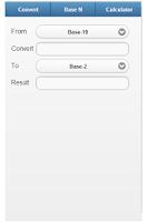 Screenshot of Binary Converter for engineer