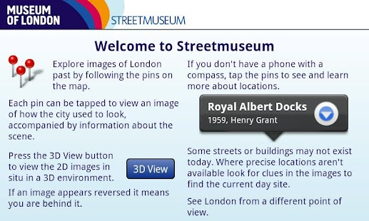 Museum of London: Streetmuseum - screenshot thumbnail