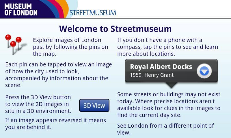 Museum of London: Streetmuseum - screenshot