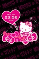 Screenshot of MARS×HELLO KITTY LiveWallpaper