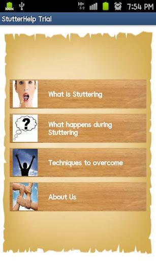 Stuttering Help Trial