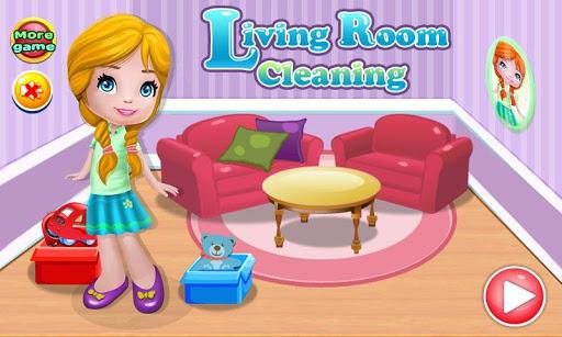 客廳清潔遊戲