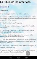 Screenshot of Biblia en Español Multi Opción