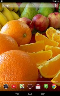 Tasty Fruits Live Wallpaper - screenshot thumbnail