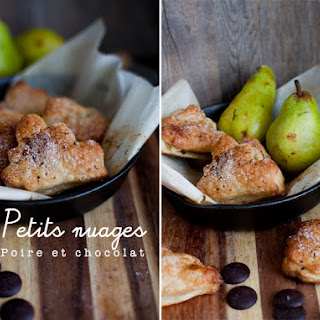 Pears and Chocolate.