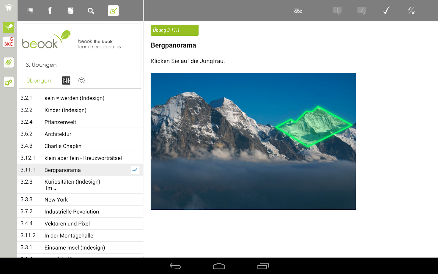 beook – Screenshot
