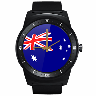 JJW Australia Day Watch Face- screenshot thumbnail