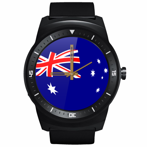 JJW Australia Day Watch Face- screenshot