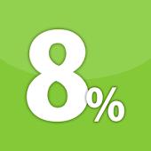 消費税8%簡単計算機(10%の計算にも対応の無料電卓アプリ)