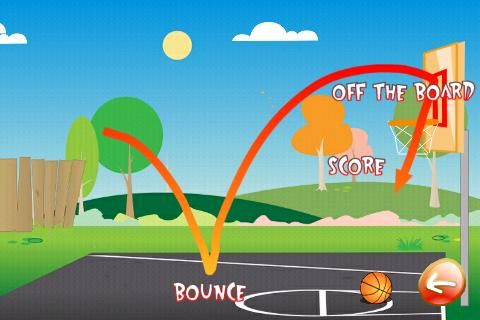 Basketball Trick Shots Lite - screenshot