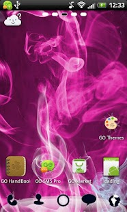 GO Launcher EX Smoke Theme - screenshot thumbnail