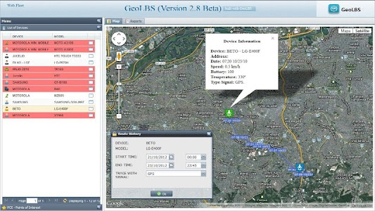 GPS Tracker Web & SMS Trial screenshot 1