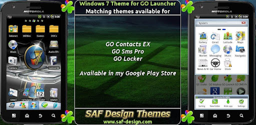 Windows 7 GO Launcher EX Theme 1.28 Apk Android