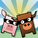 Cow and Pig Go Home! Free! logo