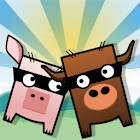 Cow and Pig Go Home! Free! icon