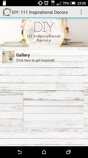 DIY: 111 Inspirational Decors