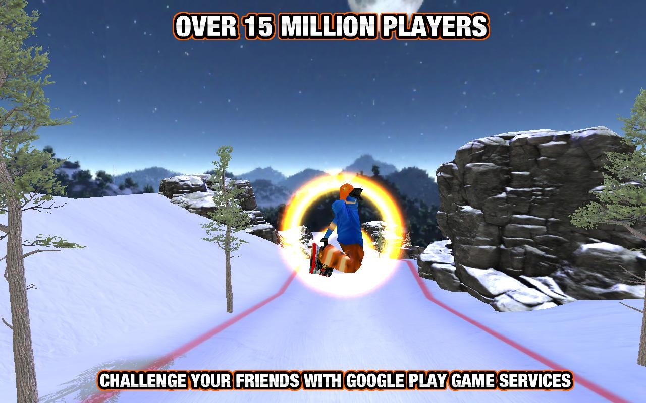 Crazy Snowboard- screenshot