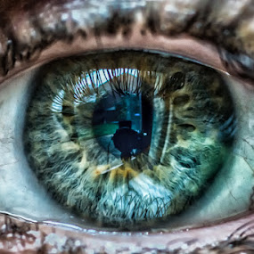 Looking inside - and outside of - me by Nicola Scarselli - People Body Parts ( macro, a99, sony 100 f2.8, eye, human )