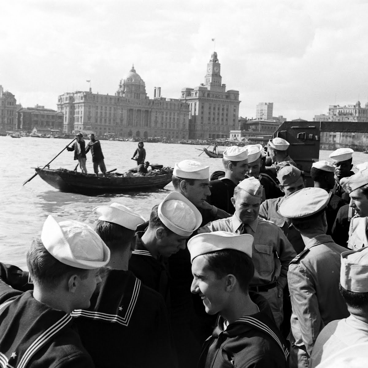 Sailors Shore Leave In Shanghai