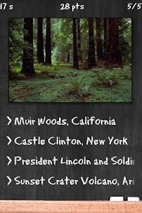 National Monuments Quiz - screenshot thumbnail